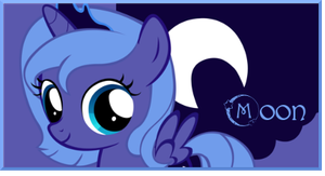 Filly Princess Luna signature by AliceHumanSacrifice0