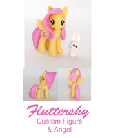 Fluttershy -- MLP Custom Sculpt by alltheApples