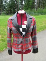 plaid jacket: front by TheOther-Half
