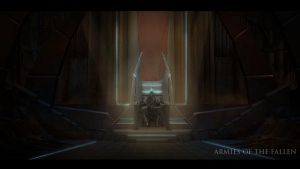 Armies of the Fallen: Throne Concept by MartinKlekner