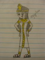 JP - egyptian by JackiePhantom13
