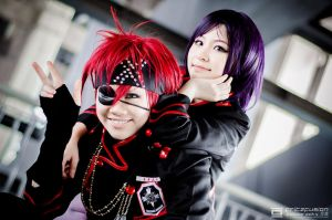 Lavi and Lenalee, D.Gray MAn by fritzfusion