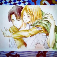 Levi x Petra - Attack on Titan by CuteSweetShop