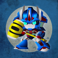 Chibi Ultra Magnus by NightLokison
