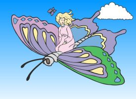Sarahs Butterfly Ride by cardinal-point