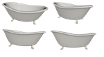 Bathtub Set png by mysticmorning