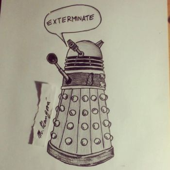 Exterminate..Dalek..Doctor Who by MichelleLang