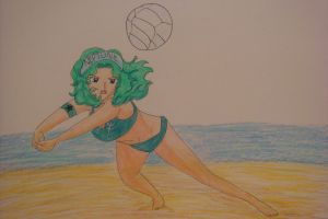 Volleyball Neptune by silvermoonmagic