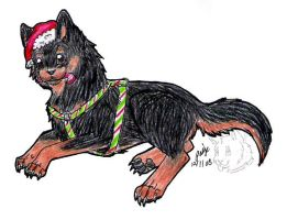 Christmas Mini Meat by Wolf-mutt