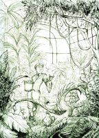 Whoa cool herbology by manonquinn