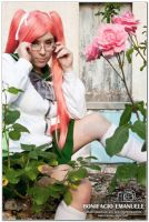 Saya Takagi -Highschool of the Dead | Bloody Rose. by NekoChanCosplay