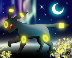 Umbreon by PhoenixDestruction
