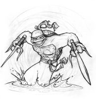 Teenage Mutant Ninja Turtle I by genesis