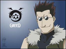 Homunculus's Series: Greed by Kaze-11