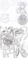 Just A Few Sketches by Imerei