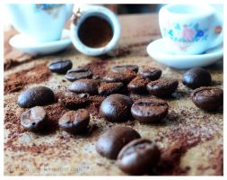 Coffee Beans 1 by g0thicAngeL