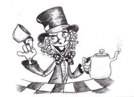 mad hatter by richard-chin