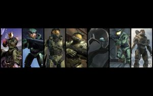 Master Chief Evolution by Billy619