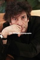 Neil Gaiman by hartigans