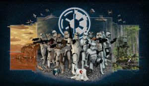 """Star Wars """"Legacy of Valor"""" by MarcWolfeArt"""