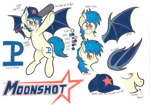 Moonshot Reference Sheet + Description by TheBatUp2Bat