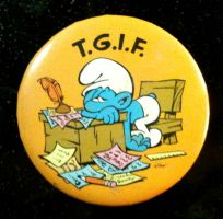 TGIF Button by BlueHecate