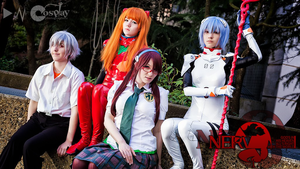 God's In His Heaven (Evangelion Rebuild Cosplay) by AmaRobot