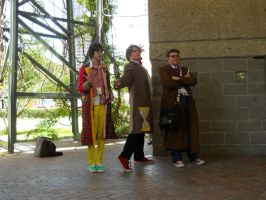 A-kon  23 MLP photoshoot : Doctor Whooves by SilverMousyPie