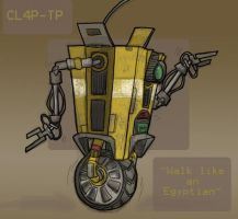 WalkLikeAnEgyptian - Claptrap by Themoonrulznny