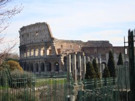 Colosseum III, Rome by Lea-Li