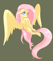 Shyest of Flutters by TwitchyKismet
