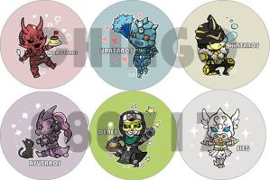 Den-o Badges by chingc