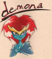 Demona by bunleungart