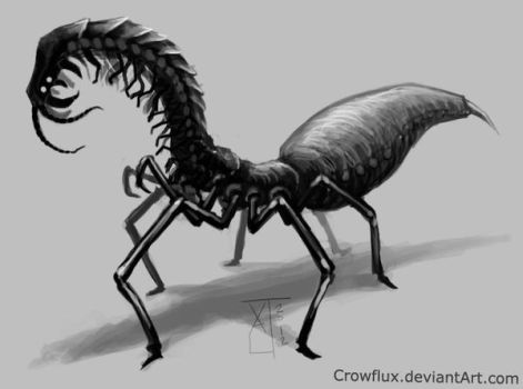 Insect Creature Concept by Crowflux