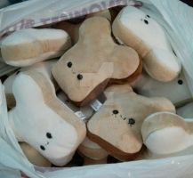 Mousebread plushies for San Japan by Love-Who