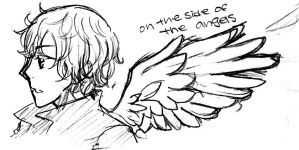 on the side of the angels by romano-lovey