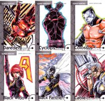 Fleer Retro sketch cards 1 by CRISTIAN-SANTOS