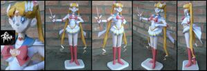 Super Sailor Moon_papercraft by FranciscoETCHART