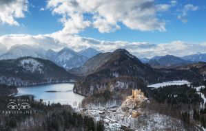 Like a fairy tale - Germany - Hohenschwangau by Bakisto
