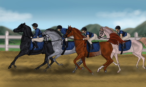 The Racers by Ixtiramm