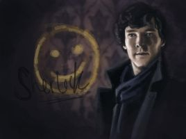 Smile, Sherlock by EmmilyTM