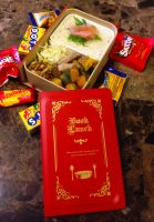 Book Box Bento by Demi-Plum