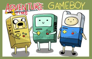 ADVENTURE TIME GAMEBOY VERSION by stevengico