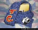 Photography Scarf for Tom Good by SmilingMoonCreations