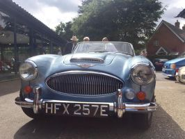 Austin Healey 3000 Mk111 front by Car-lover33