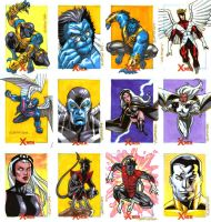 X-Men Archives Set 3 by ryanorosco