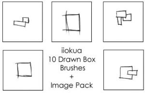 10 Drawn Boxes by iiokua