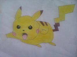pikachu by Laquera