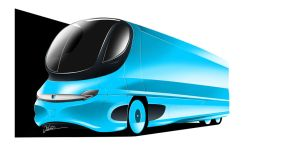 Streamlined Commercial Vehicle - Design 001 by JOK0M0