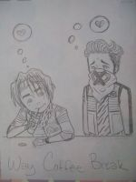 Way Coffee Break by pistol-paintbrush493